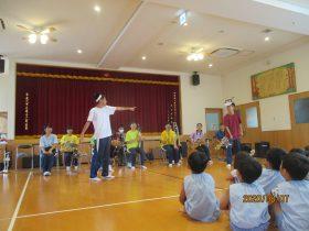 戸町中学校吹奏楽部の演奏を楽しみました!